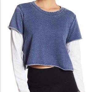 Alternative apparel blue shirt